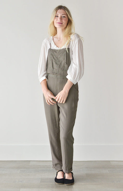 Little Woodland Overalls