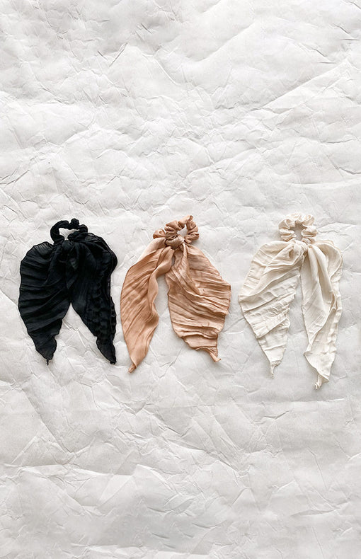 Her Signature Hair Scarf - Black