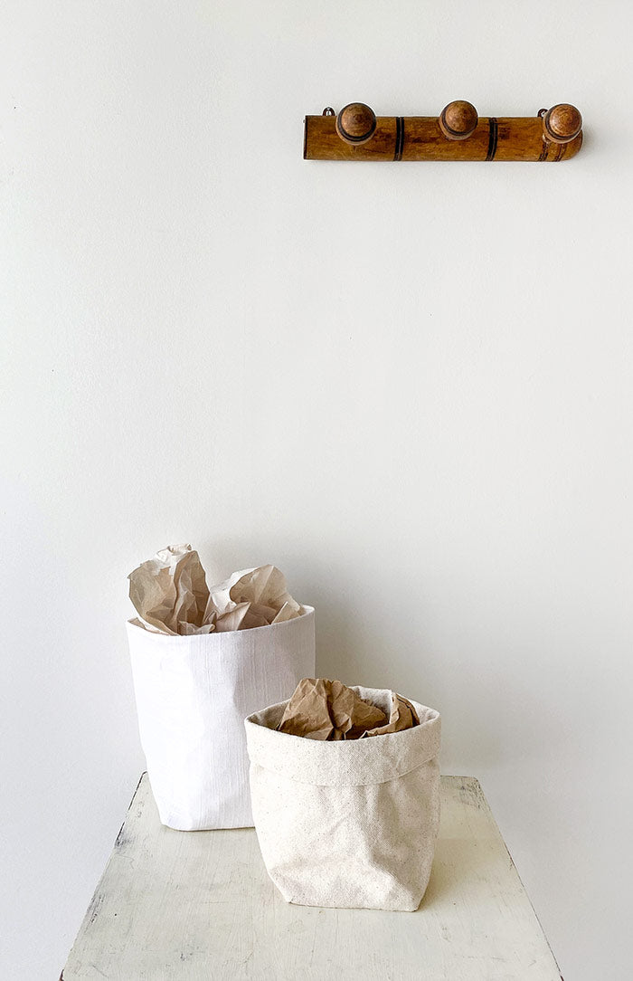 Natural Linen Storage Bag