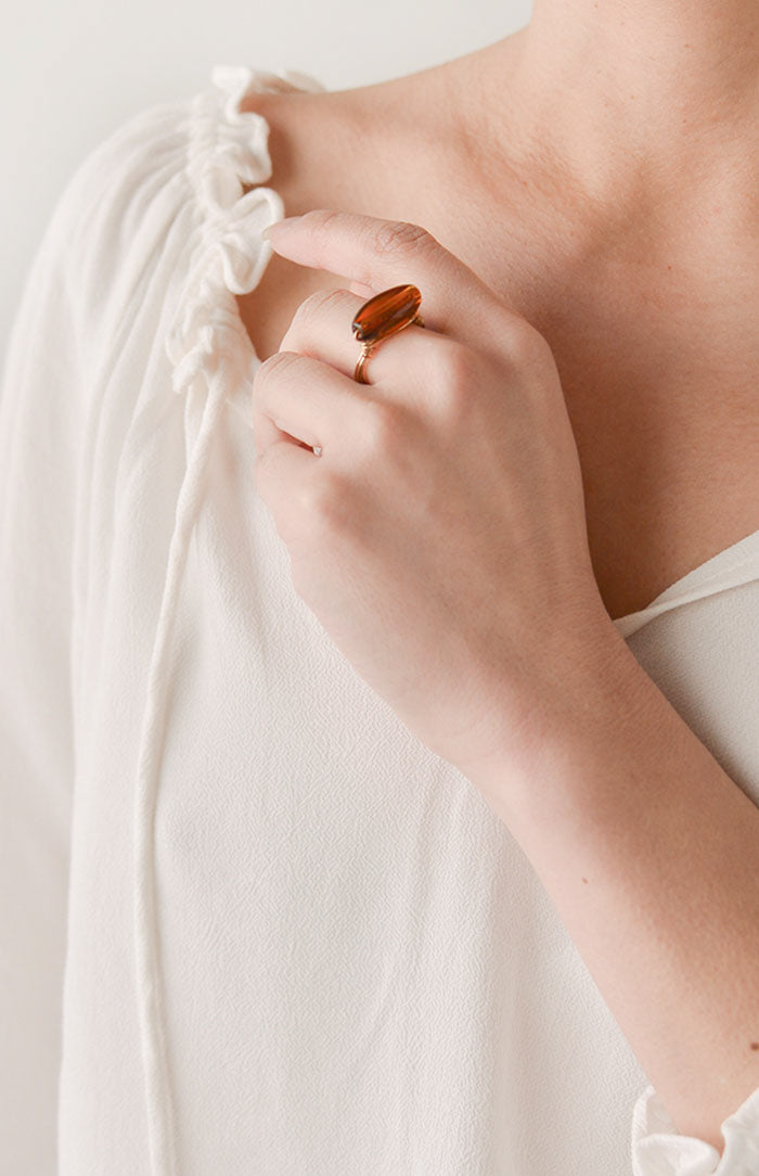 Wrapped in Thought Ring