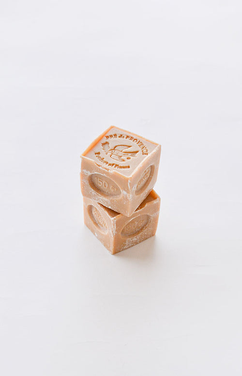 Marseille Carved Soap Cube
