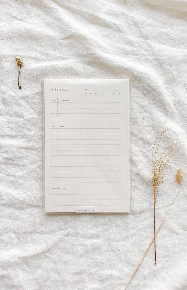 To-Do Today Notepad