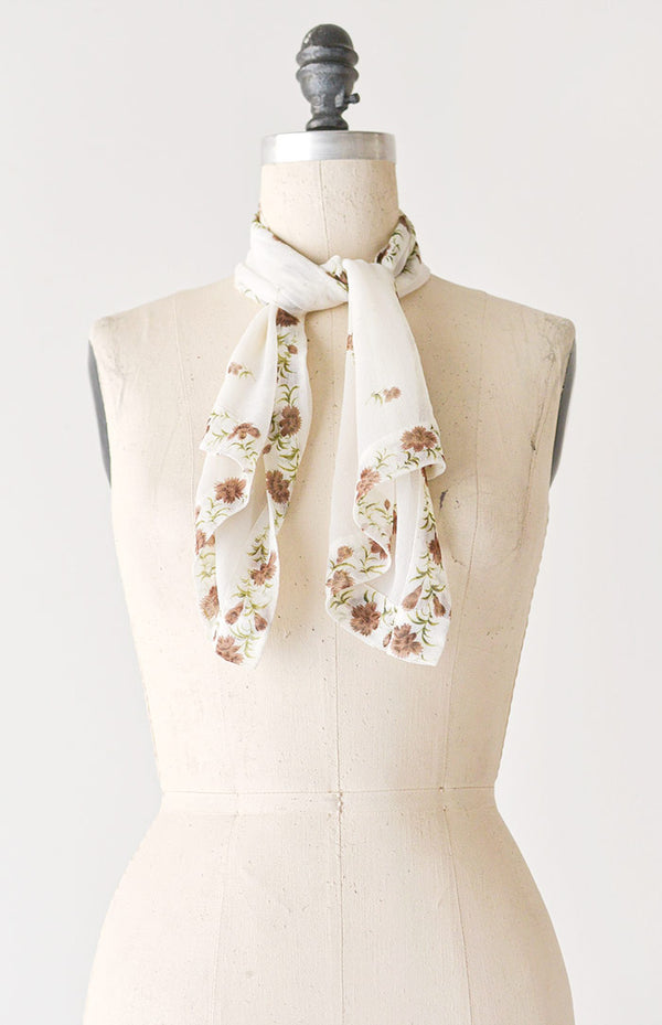 Way of Flowers Scarf
