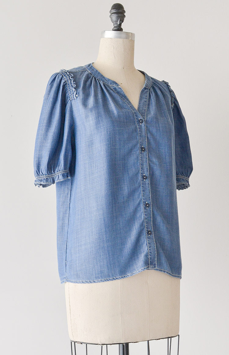 Yonder Blues Blouse