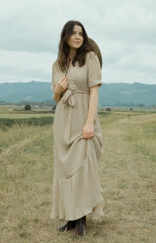 Woodland Phlox Dress - Feminine & Timeless Dresses & Clothing - Adored Vintage Boutique