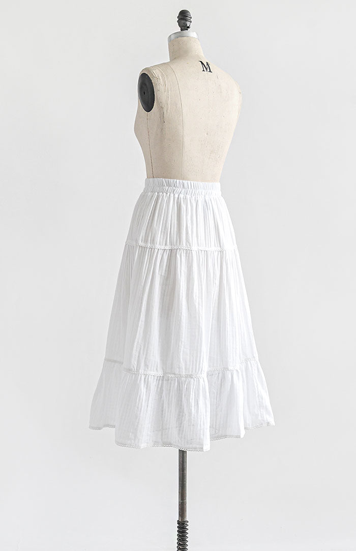 Wakened By Light Skirt - Feminine & Timeless Dresses & Clothing - Adored Vintage Boutique