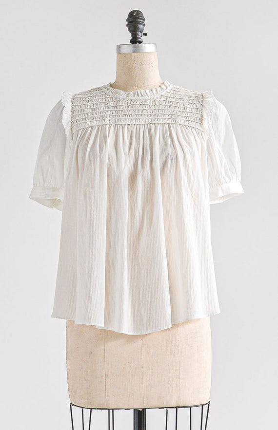 Sanderling Top - Feminine & Timeless Dresses & Clothing - Adored Vintage Boutique