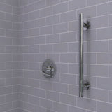 Infinity Straight Grab Bar Polished Chrome - Grab-Bar.com