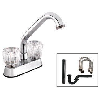 Speciality Laundry Tub Sink Faucet Kit - Grab-Bar.com