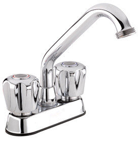 Belanger Specialty Laundry Tub Sink Faucet with Knob Controls - Grab-Bar.com