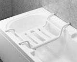 Designer Removable Bathtub Bench - White, Ponte Giulio - Grab-Bar.com