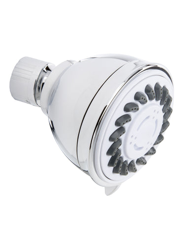 3 Function Shower Head. Spray Massage Spray & Massage, Polished Chrome - Grab-Bar.com