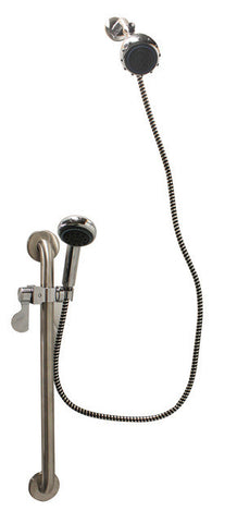 Handheld Showerhead & Grab Bar Kit - Grab-Bar.com
