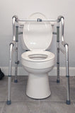 Adjustable Toilet Safety Rails - Grab-Bar.com