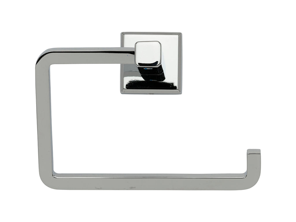 Toilet Paper Roll Paper Holder, Square - Grab-Bar.com