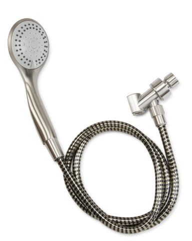 5 Function: Spray Massage Mist Spray & Massage Spray & Mist, Brushed Nickel - Grab-Bar.com