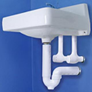 ADA Handicap Bathroom Under Sink Trap Wrap Cover Protection Kit - Grab-Bar.com