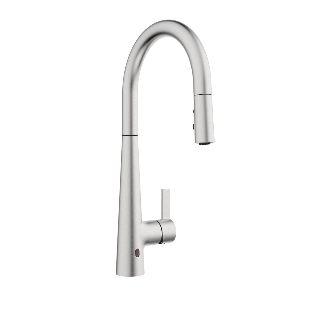 Belanger Touchless Single Handle Pull-Down Kitchen Faucet with Magik Technology, Stainless Steel