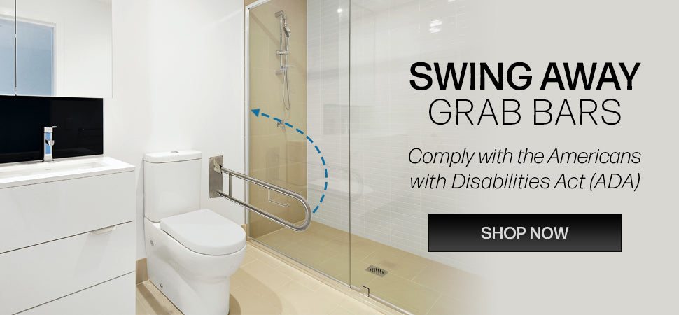 Grab Bar and Shower Kit Bundles - Free Shipping