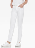 Melrose 5 pocket Skinny Jean - White-Ecru