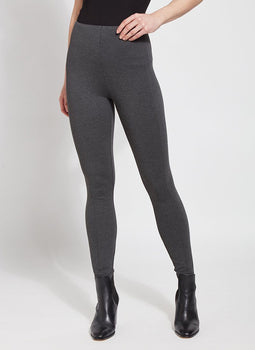 Laura Legging - Charcoal-Lysse