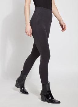 Super High Waist Legging - Black-Lysse