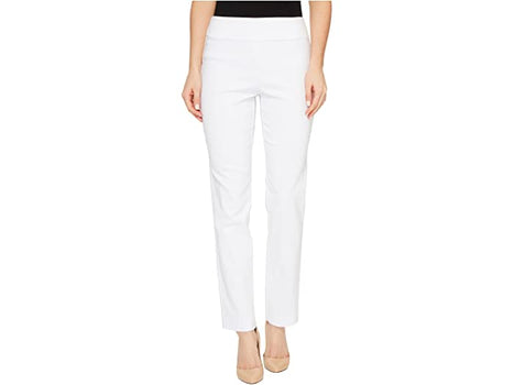 Pull-On Ankle Pant - White-Krazy Larry