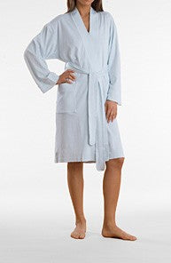 Butterknit Short Robe-P.Jamas