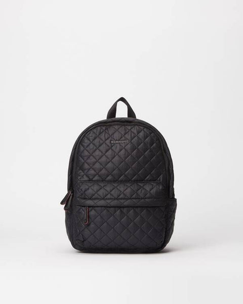 CIty Metro Backpack - Black Rec-MZ Wallace