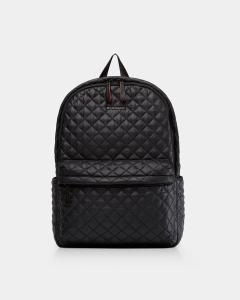 Metro Backpack - Black Rec-MZ Wallace