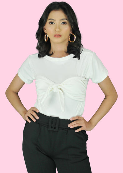 Lexis Top - White