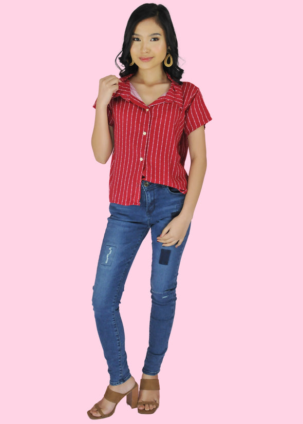 Tressa Top - Red