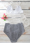 Marina Lace Design Two Piece High Waisted Swimwear