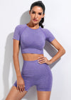 Britt Activewear Set - Purple