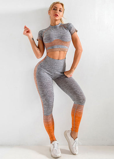 Etta Activewear Set - Orange