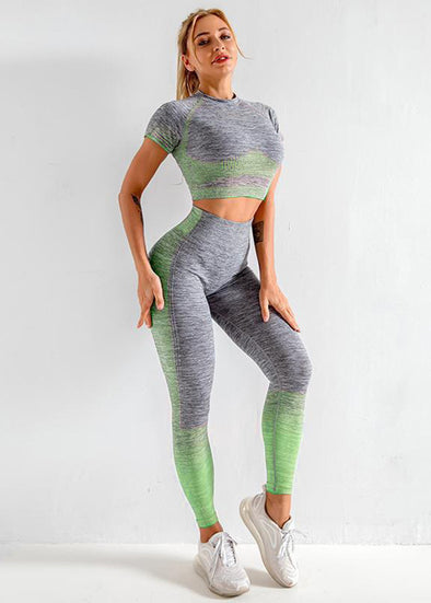 Etta Activewear Set - Green