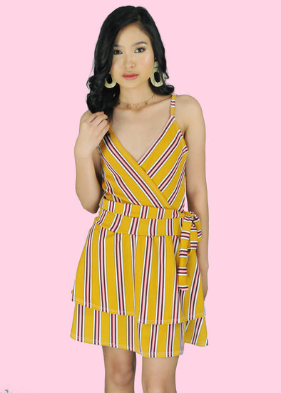 Stasia Dress - Mustard