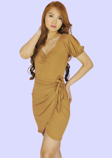 Neri Dress -  Tan