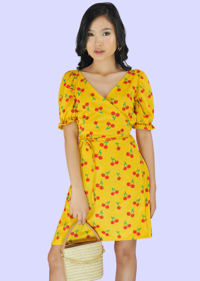Kyla Dress - Yellow