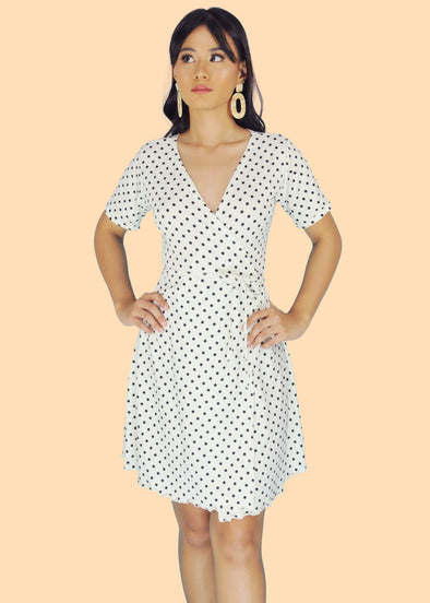 Audrey Dress - White