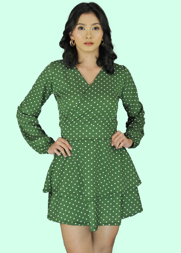 Vera Dress - Army Green