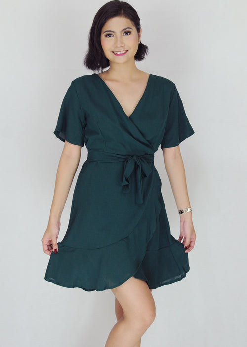 Deven Dress - Green