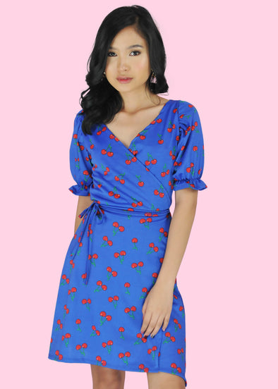 Kyla Dress - Blue