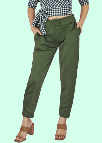 Jody Pants - Navy Green
