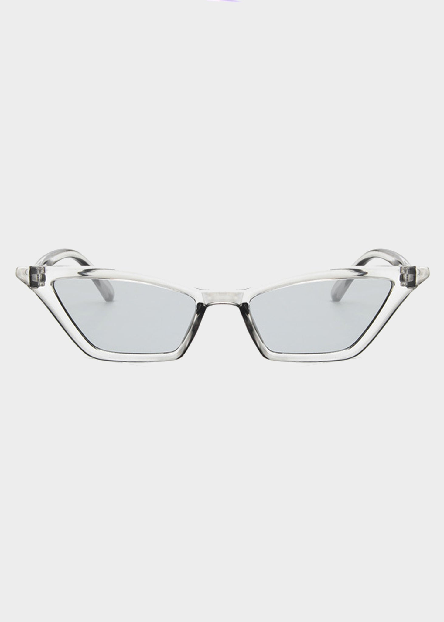 800ae469fd Gray Tinted Small Cat Eye Sunglasses