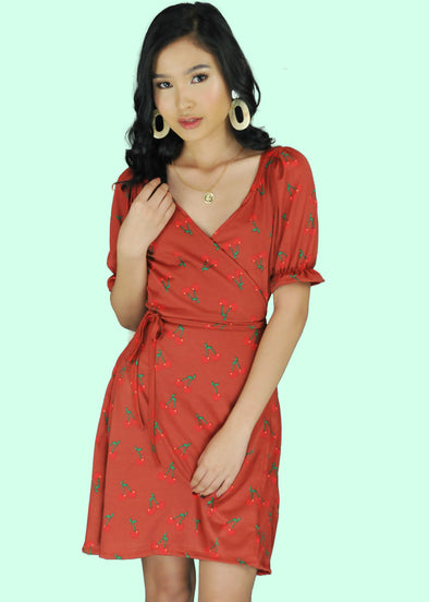 Kyla Dress - Rust