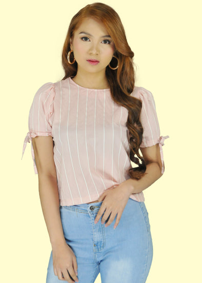 Ella Top - Light Pink