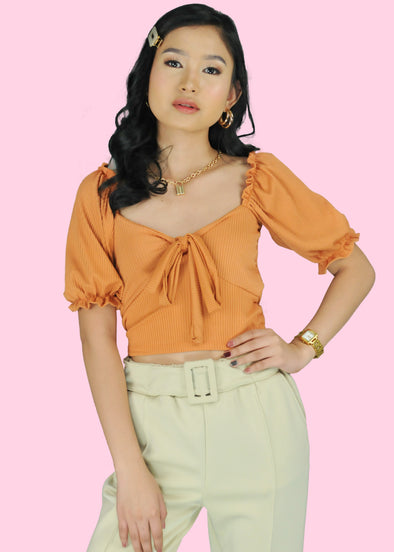 Elaine Top - Orange