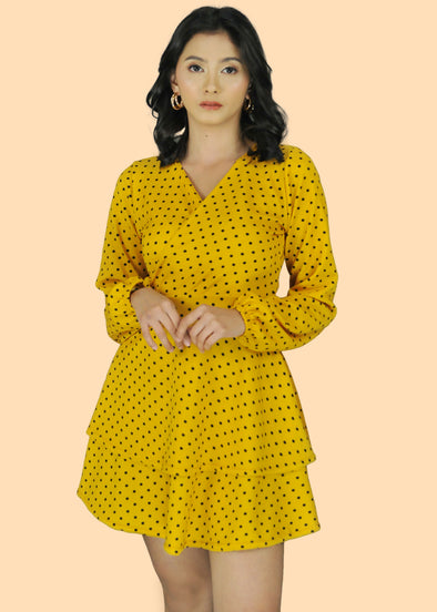 Vera Dress - Yellow