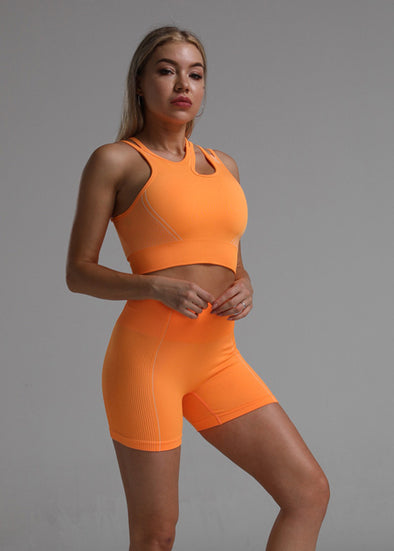 Joby Activewear Set - Neon Orange